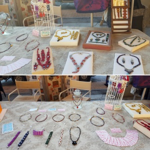 Mercatino Natale 2016 Cumiana - Borse, bijoux e macramè